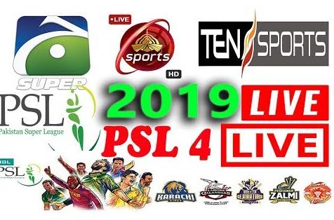 PSL 4 Live Streaming